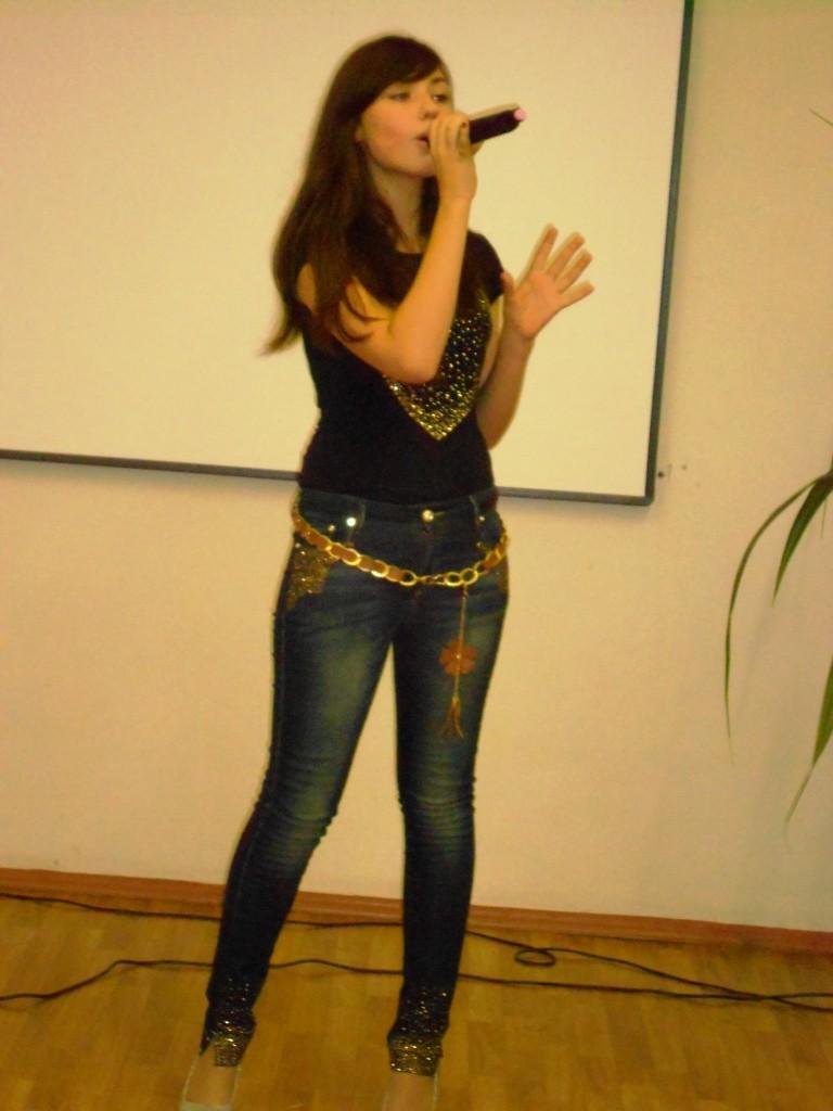 Чанышева Ксения - Победитель конкурса английской песни