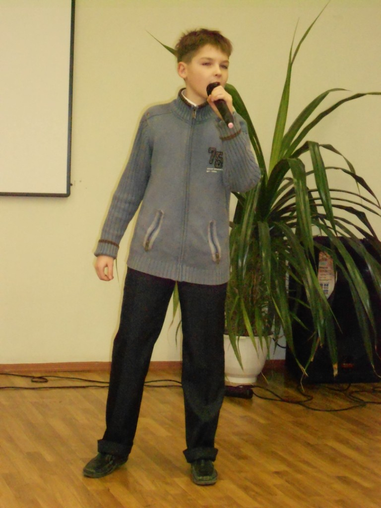 Цуприй Сергей - на репетиции