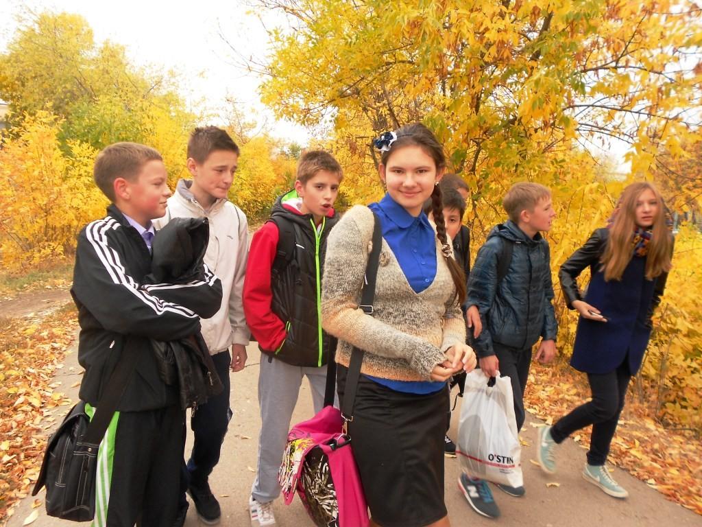 По дороге в детский сад № 16