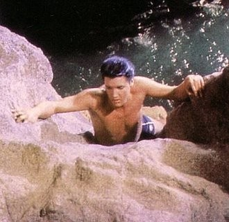 "Elvis im Film ""Fun In Acapulco""."