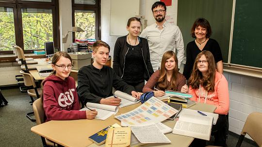 Schüler der Realschule Korschenbroich planen App über jüdisches Leben