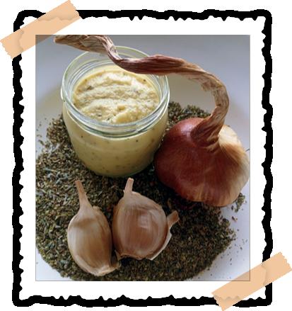 Knoblauchcreme; Knoblauch; geräuchert; Rezept; Frankreich; Arleux; kochen; Gerichte; Kochbuch