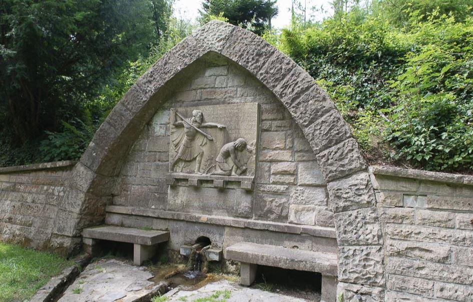Sigfriedsbrunnen bei Odenheim