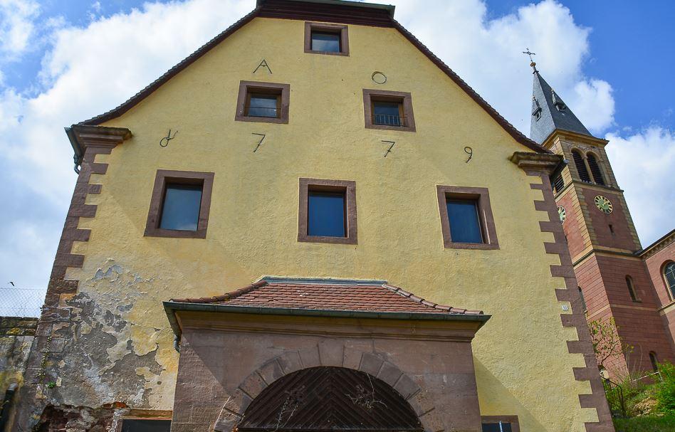 Alte Zehntscheune in Oberöwisheim