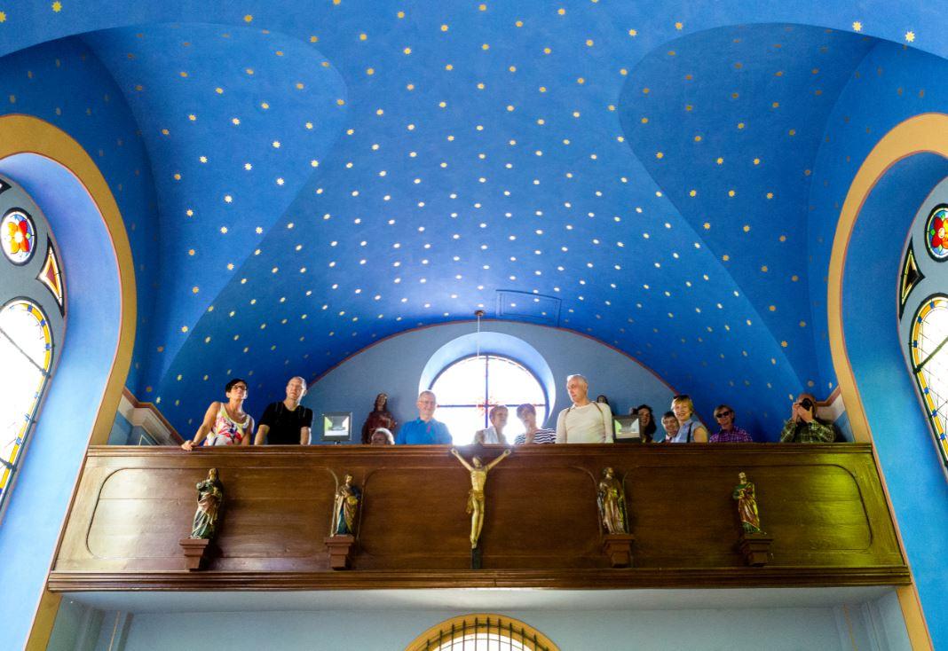 Waldkapelle Innenansicht Östringen