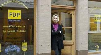 Nicole Manger, Leiterin Geschäftsstelle