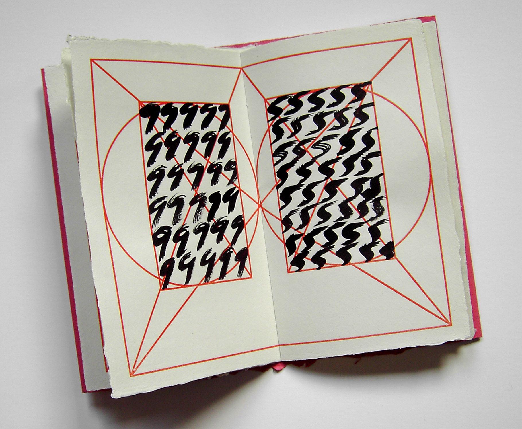 """""""Alpha Beta"""" (2005) - Ein Künstlerbuch von John Gerard und eine Hommage an das Alphabet und den Goldenen Schnitt"""
