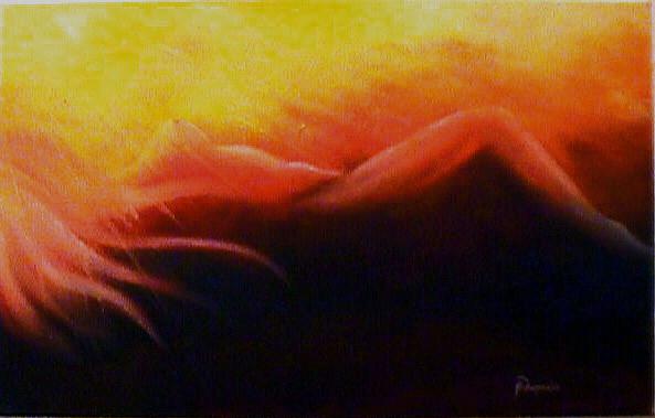 Light & Shadows  (Huile sur toile 41x27 cm - 220€) - © B. Dupuis