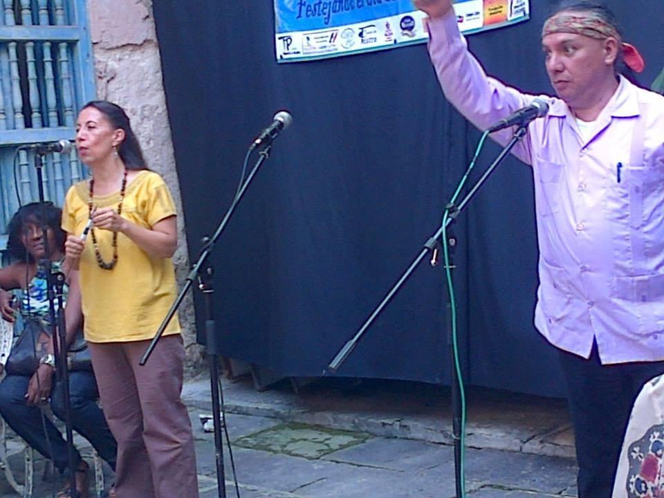 Un cuento a dúo como despedida de Marcela Romero y Marconio Vázquez. Bellos.