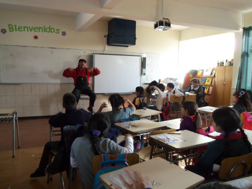 Escuela Vicuña Mackenna en Rancagua - 2012