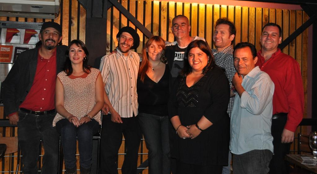 Con el grupo Encantacuentos e invitados - 2012