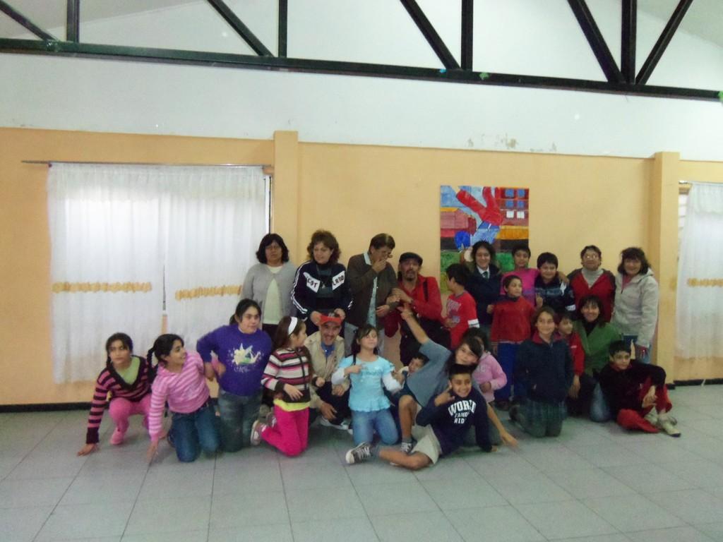 Junta Vecinal de población Vicuña Mackenna en Rancagua - 2012