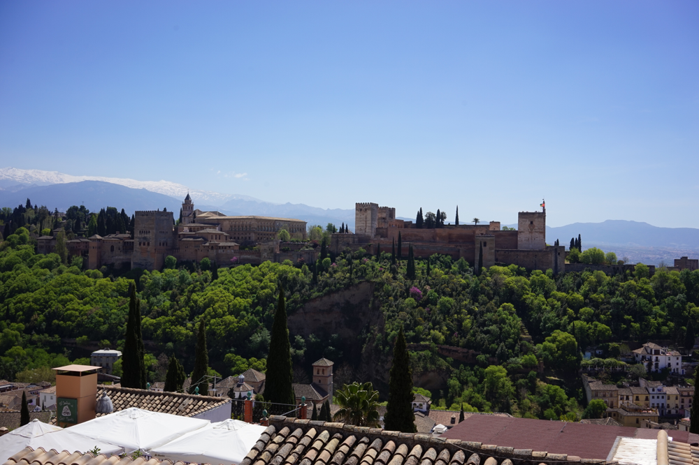 The Alhambra - palace and fort at the same time