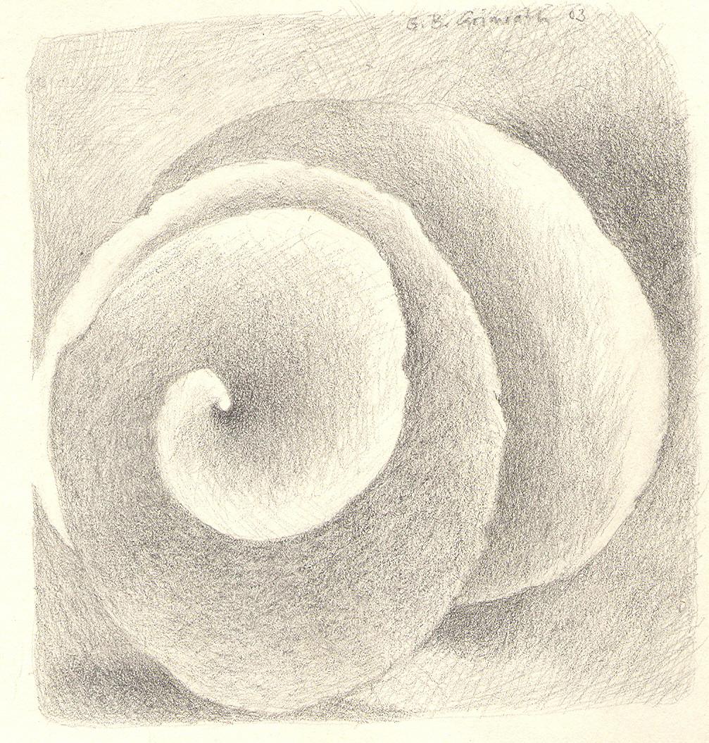 Samen, Zeichnung, 20 x 20 cm