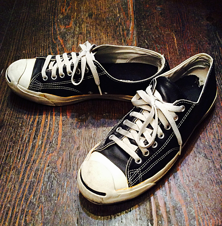 Old CONVERSE jack purcell leather