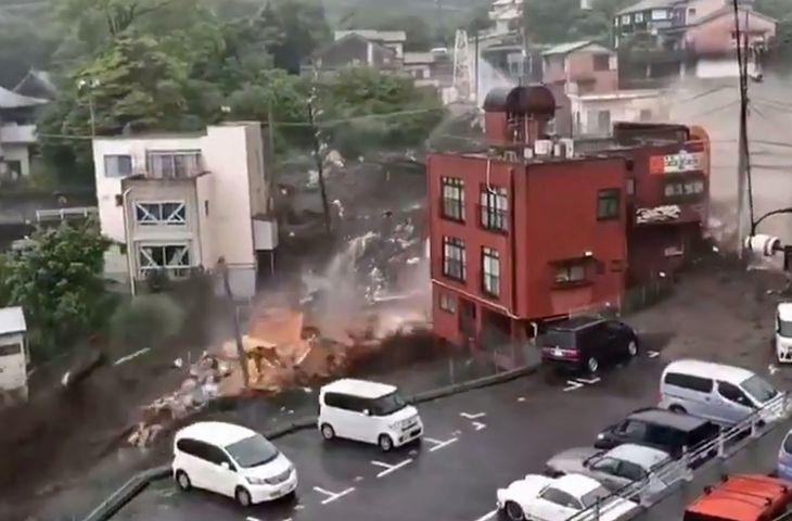熱海市 集中豪雨に盛土が要因した土石流災害
