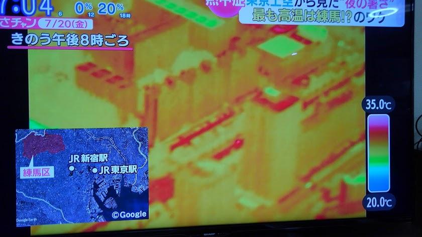 東京夜8時でも30℃以上