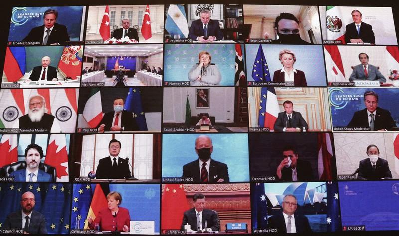 気候変動サミット2021 40カ国首脳参加
