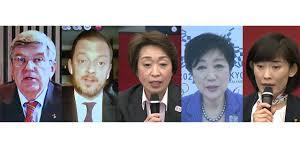 東京五輪の5者会談のメンバーに日本の女性3名
