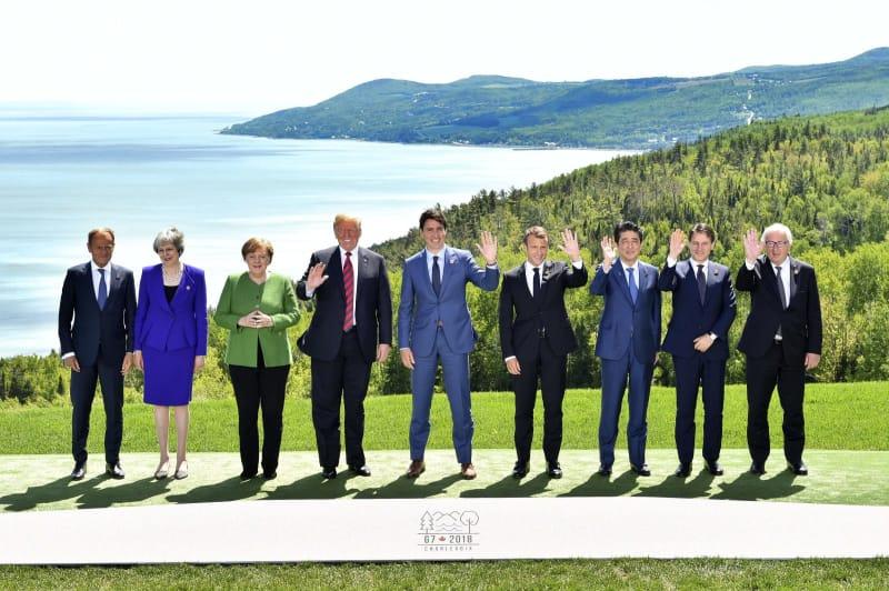 6月8~9日 G7先進国首脳会議+EU大統領・議長
