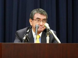 菅内閣の河野太郎行政改革大臣 ハンコ廃止