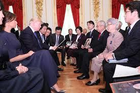 拉致被害者家族会トランプ大統領に面談 日本