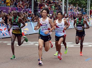 2012年真夏のロンドン男子マラソン