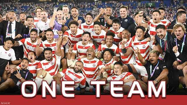 ラグビー日本8強 ラグビーワールドカップ