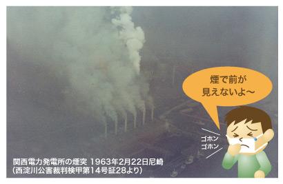 深刻な大気汚染が公害として襲い掛かる