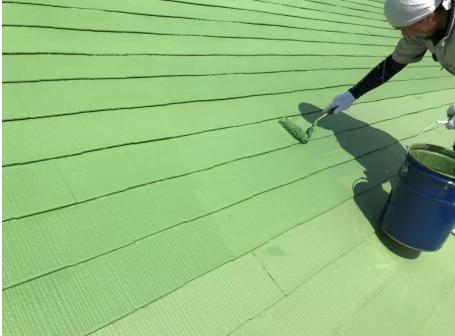 熱交換塗料の機能性を活かす厚みを確保する