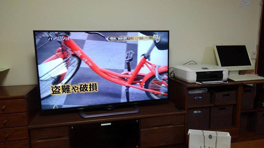 自転車の盗難や破損がある。