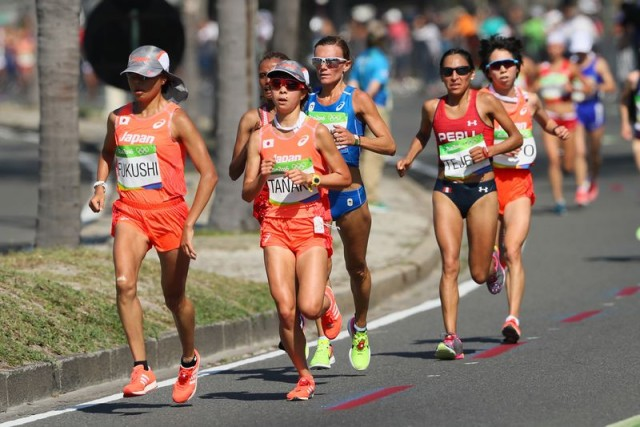 真夏のリオデジャネイロオリンピック、完走するも力及ばず