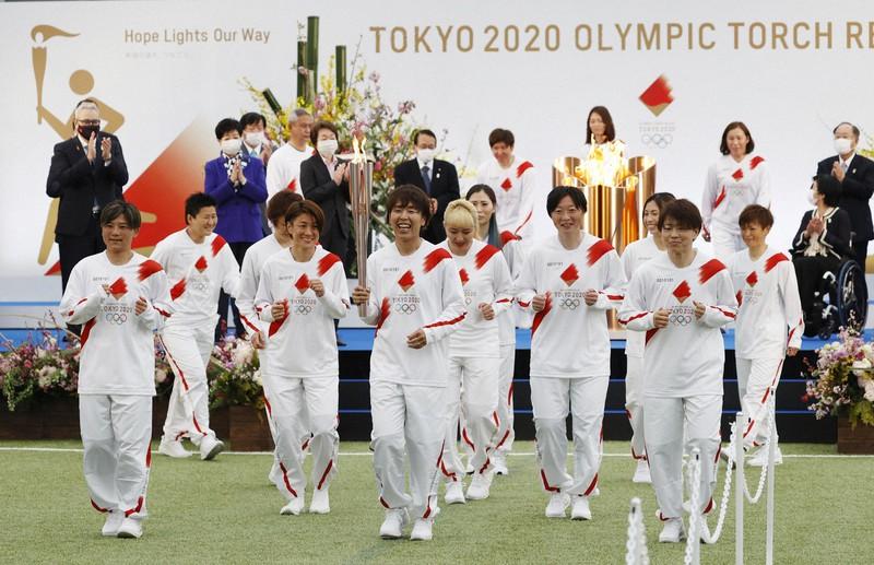 東京オリンピック聖火リレースタート