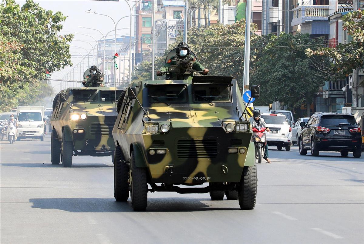 ミャンマー軍事クーデター 混迷のアジア