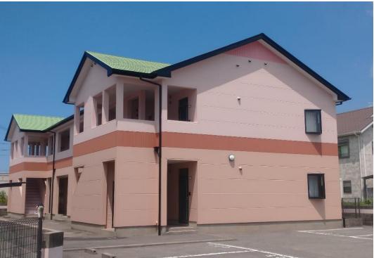 築24年 ハイツ屋根・壁 熱交換塗料 塗布