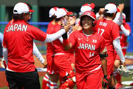 東京五輪 ソフトボールで開幕 日本快勝