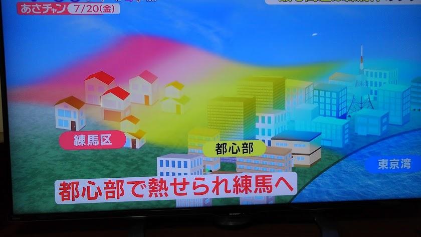 東京湾の海風がビル群で遮断