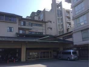 中村が宿泊した旅館 Line画像