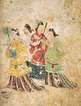 高松塚古墳 壁画 修復技術を採用