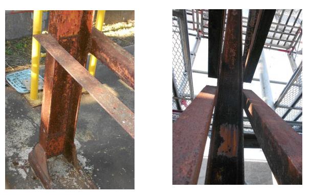 歴史あるガスプラント工場の錆劣化メンテナンス