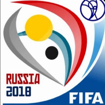 ワールドカップロシア大会のシンボルマーク