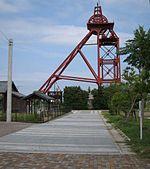 石炭の選別塔です。