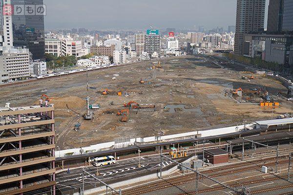 大阪駅貨物コンテナ跡地 2期工事開始