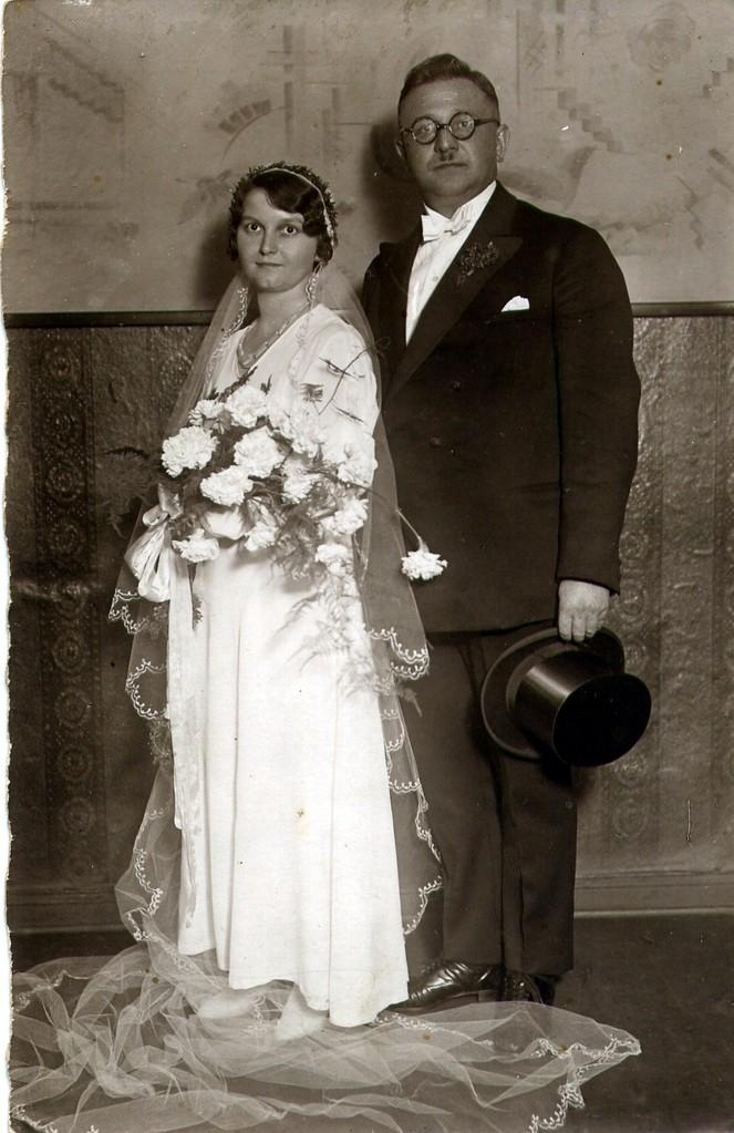 Hochzeit Fritz und Gertrud Katterwe ( Placzek )
