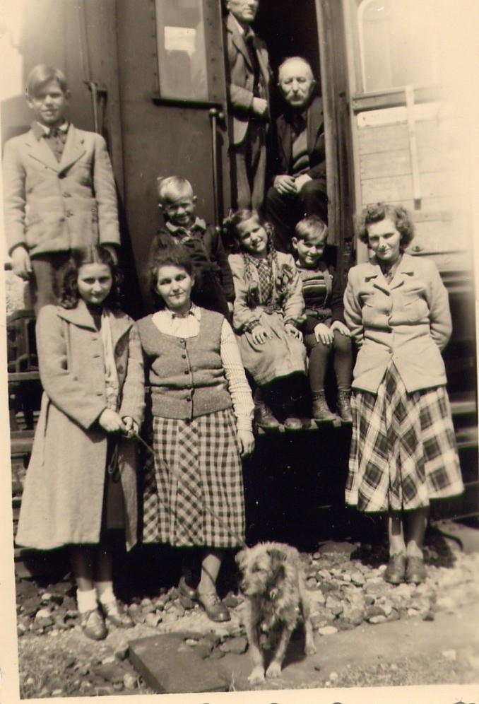 1950 Umsiedlung Fam. Udo Katterwe