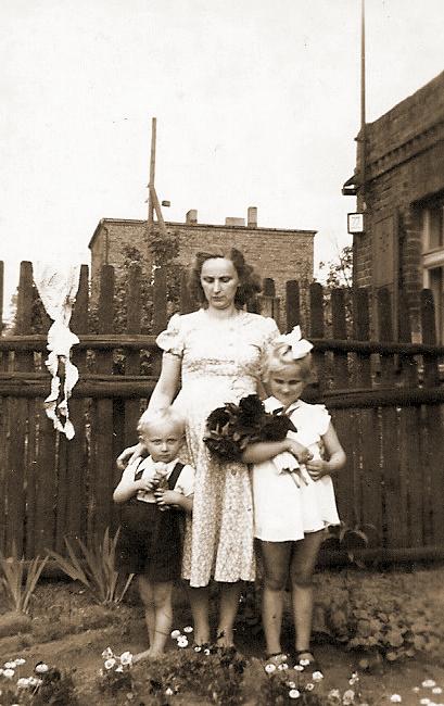 Rosa Katterwe li. Marian Landowski