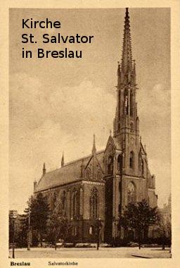 Heirat Emil Katterwe + Bertha Winkler 1899 in dieser Kirche