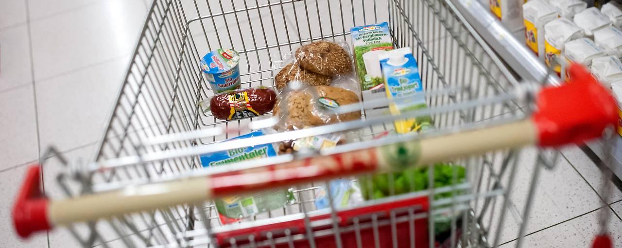 Bioumsatz in Supermärkten
