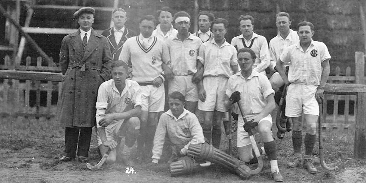 10.04.1929 | Die ersten Herren des KHC an Ostern.