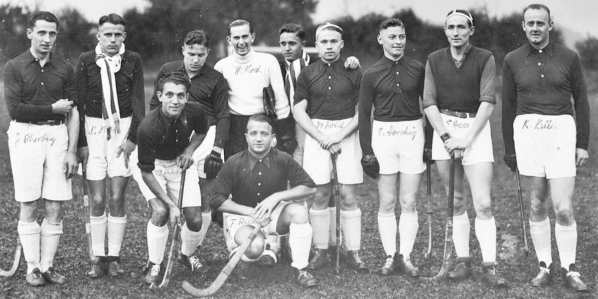 02.06.1934 | Die KHC Herren 1 zu Gast in Brüssel.